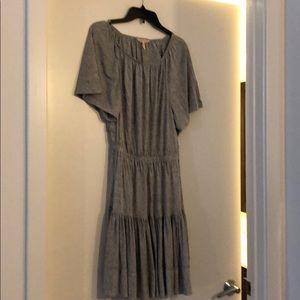 Rebecca Taylor jersey dress with cutout back